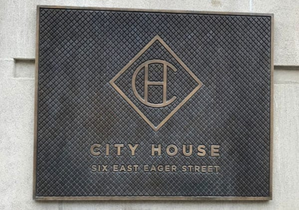City House Sign